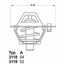 WAHLER Thermostat, coolant 3118.82D1