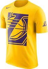 Nike Los Angeles Lakers Dri-Fit Cotton Shirt Medium Basketball Lebron AJ2418-728