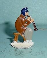"Vintage Heinrichsen German Flat Lead ""Man Playing Clarinet"" Near Mint F/S Lot B"