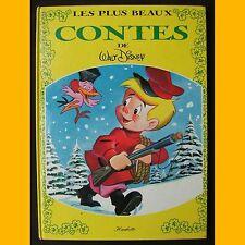 LES PLUS BEAUX CONTES DE WALT DISNEY 5 histoires 1975