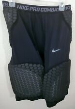 Nike Pro Combat Vis Deflex Padded Compression Basketball Shorts Mens 3XL Black
