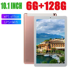 10.1'' 128GB Android 6.0 Tablet PC Quad-core 4G-LTE HD WIFI 2 SIM Camera Phablet