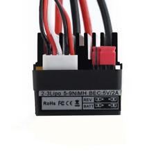 320A Brushed ESC Speed Controller High Voltage Water-Proof for 1/10 RC Car Buggy