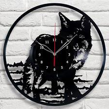 "Fox Vinyl Record Wall Clock Home Decor The Best Gift Fun Art Decor 12"" 30cm #1"