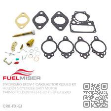 STROMBERG BXOV-1 CARBY REBUILD KIT 6 CYL 138 GREY MOTOR [HOLDEN FB-EK-EJ SERIES]