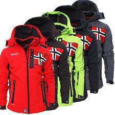 Geographical Norway Rova Men Herren Softshell Jacke Winterjacke S-XXL