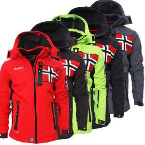 Geographical Norway TANGATA Herren Softshell Jacke Softshelljacke S-XXL