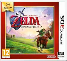 THE LEGEND OF ZELDA OCARINA OF TIME 3D NINTENDO SELECT JEU 3DS NEUF