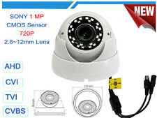 AHD ANALOG CVI TVI 720P 960H 1 MP VANDAL PROOF WDR CCTV DOME SECURITY CAMERA