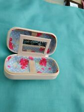 Glasses/Contact lens case- double with mirror