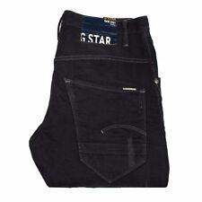 Vaqueros de hombre negro G-Star 100% algodón