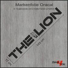 1x The Lion LKW-Aufkleber 145 x 17 cm (man_21)