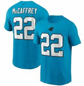 Christian McCaffrey Carolina Panther Nike Player Name & Number Shirt Adult SALE