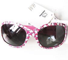 Lunettes de soleil h&m Nouveau M.E Hello Kitty Sanrio cat.3 UV 400 Rose Blanc Enfants