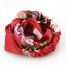 Fashion Women Yoga Elastic Turban Floral Twisted Knotted Hair Band Headband N7