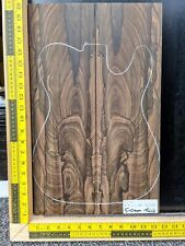 5A Ziricote Bookmatched Top Guitar Bass Making Luthier Supplies