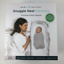 Baby Delight Snuggle Nest Harmony Portable Infant Sleeper 0-5 Months