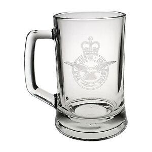 Royal Air Force (RAF) Heeled Glass Tankard