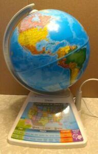 Oregon Scientific SG268R Smart Globe Adventure AR Educational Toy WHITE B13