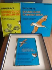 Witherby's Sound Guide to British Birds 2 x Long Playing Vinyl Records + Book