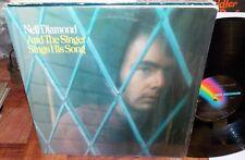 1976 NEIL DIAMOND AND THE SINGER SINGS HIS SONGS MCA POP LP #MCA-2227 VG+