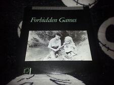 Forbidden Games Criterion Laserdisc LD Free Ship $30 Orders
