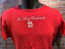 St Louis CARDINALS Baseball MLB Women's T-Shirt Size XL