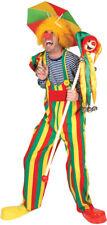 Morris Costumes Men's Long Sleeve Comical Clown Charlie Costume 42-44. FF760649