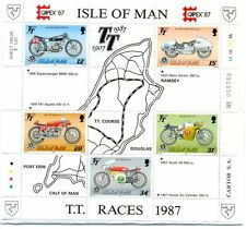 Motorcycles Manx Regional Stamp Issues