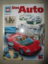 XXXX Was ist was , Das Auto ,  Band 53 , Cover D ,  Tessloff