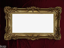 Wall Mirror Gold 96x57 Antique Baroque Rococo Magnificently Retro Renaissance