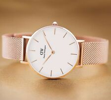 Daniel Wellington Classic Petite Melrose DW00100163 Rose Gold white NEU 32mm NEW