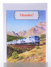 Amtrak Train Party Thank You Cards With Envelope (8 ct)