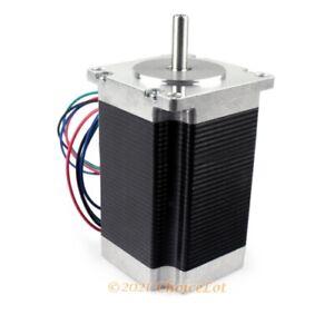Home Automation CNC 57x82mm Nema23 Stepper Motor High Torque Low Noise/Vibration