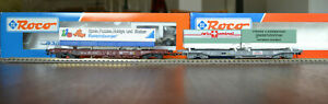 Roco HO SBB DB Taschenwagen 46585 Giezendanner und 48016 Ravensburger OVP