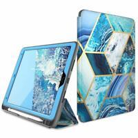 "For iPad Air 3 2019 / iPad Pro 10.5"" Case i-Blason Cosmo Cover w/ Pencil Holder"