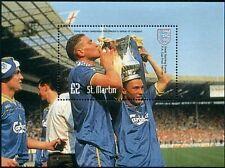 WIMBLEDON Vinnie Jones 1988 FA CUP Football Stamp Sheet
