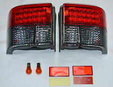SMOKED LED REAR LIGHTS M3 STYLE  PAIR NEW VW TRANSPORTER T4 1991 to 2003 PRL9042
