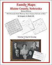 Family Maps Blaine County Nebraska Genealogy NE Plat