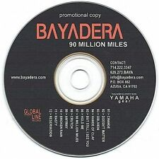 Audio CD 90 Million Miles - Bayadera - Free Shipping