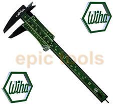 """Wiha German 6""""/150mm Calimax Non-Metallic Vernier Caliper With Depth Gauge,27083"""