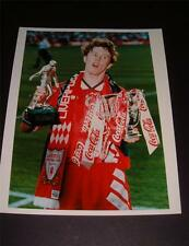 Liverpool FC Steve McManaman 1995 Taza de Liga hombre final del partido Foto De Prensa