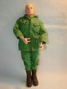 Vintage Hasbro GI Joe Action Soldier Doll 1964 Dressed with Boots Scar
