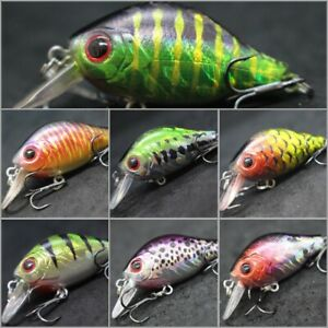 Crankbait For Bass Fishing Fishing Lures 2 1/5 inch 1/4 oz Multiple Colors C564