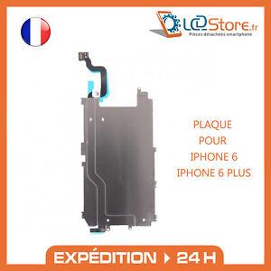 Plaque métallique thermique nappe bouton home  iPhone 6 6 Plus support métal