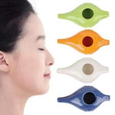 Neti Pot Cleaning Washing Nose Changer With Ceramic Stuff Nasal Oral IrrigatoKTP