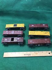 HO Varney 6 Freight Cars Good Condition (HO9847)