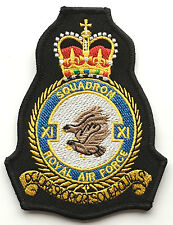 RAF No.11 Close Air Squadron Royal Air Force Military Embroidered Patch