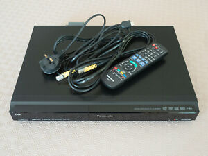 Panasonic DMR-EZ27 DVD Recorder With HDMI 1080P & Freeview + Remote - Black