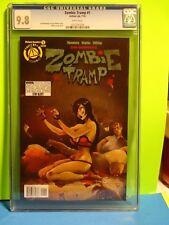 ZOMBIE TRAMP # 1 CGC 9.8 - Action Lab Comics ! Mendoza ! TMChu ! Janey Belle 56